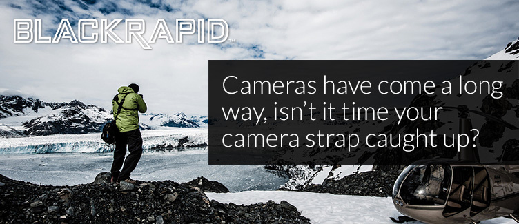 Cameras have come a long way, isn't it time your camera strap caught up?
