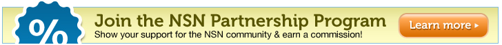 Join the NSN Partnership Program - Show your support for the NSN community and earn a commission!