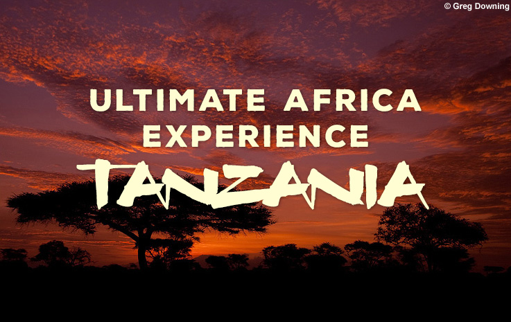 Ultimate Africa Experience - Tanzania photography workshop with Greg Downing