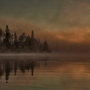 Canada lake sunrise © Greg Downing