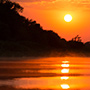 Pantanal river sunset © Greg Downing