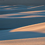 Sand dune layers New Mexico © Nikhil Bahl